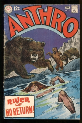 Picture of ANTHRO (1968) #5 4.0 VG