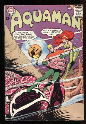 Picture of AQUAMAN (1962) #19 6.0 FN