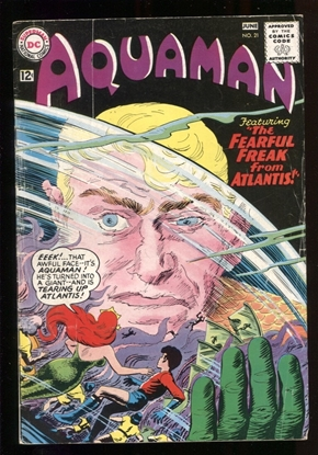 Picture of AQUAMAN (1962) #21 5.0 VG/FN