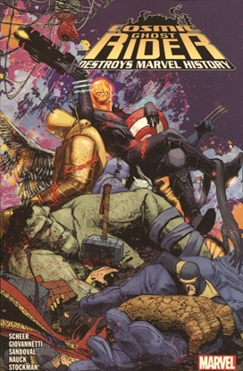 Picture of COSMIC GHOST RIDER DESTROYS MARVEL HISTORY TP