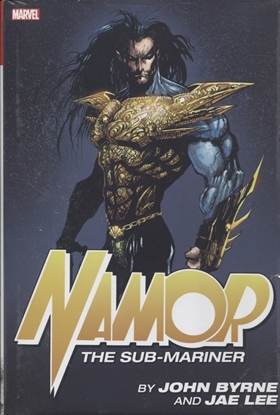 Picture of NAMOR SUB-MARINER BY BYRNE AND JAE LEE OMNIBUS HC DM VAR
