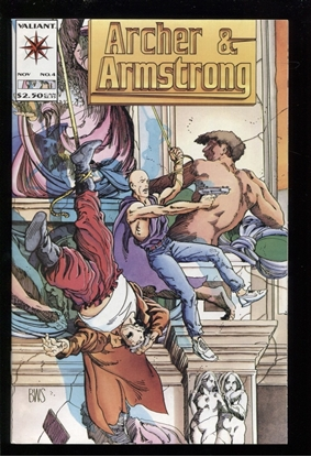 Picture of ARCHER AND ARMSTRONG (1992) #4 9.6 NM+