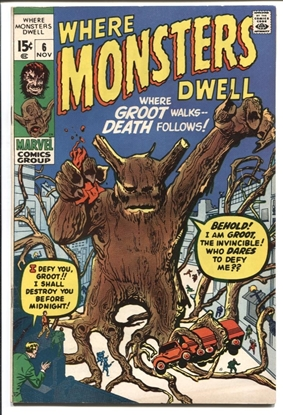 Picture of WHERE MONSTERS DWELL #6 7.0 F/VF
