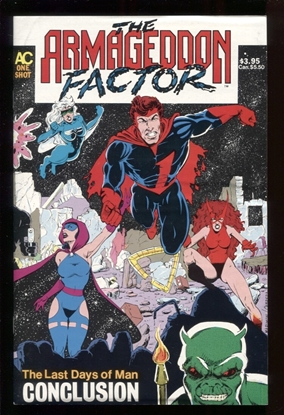 Picture of ARMAGEDDON FACTOR #1 The Conclusion 8.0 VF