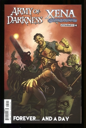 Picture of AOD XENA FOREVER AND A DAY (2016)  #6 (OF 6) CVR A MORITAT NM