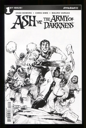 Picture of ASH VS AOD (2017) #1 CVR F 20 COPY BROWN B&W INCV (NET) NM