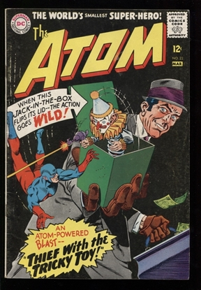 Picture of THE ATOM (1962) #23 6.0 FN