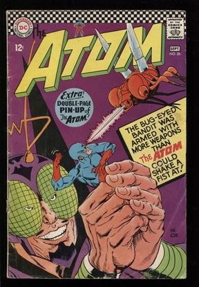 Picture of THE ATOM (1962) #26 4.0 VG