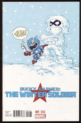 Picture of BUCKY BARNES WINTER SOLDIER #1 YOUNG VAR