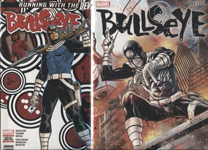 Picture of BULLSEYE #1 COVER A & B SET