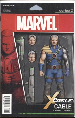 Picture of CABLE #1 CHRISTOPHER ACTION FIGURE VAR