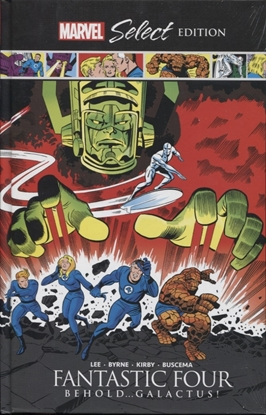 Picture of FANTASTIC FOUR BEHOLD GALACTUS MARVEL SELECT HC