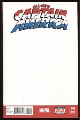 Picture of ALL NEW CAPTAIN AMERICA #1 BLANK VAR