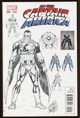 Picture of ALL NEW CAPTAIN AMERICA #1 PACHECO VAR
