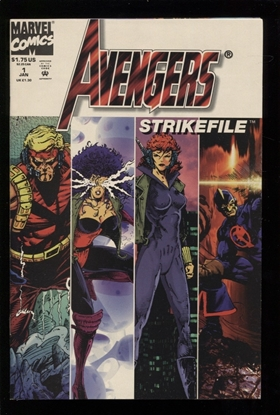 Picture of AVENGERS STRIKEFILE (1994) #1 9.4 NM