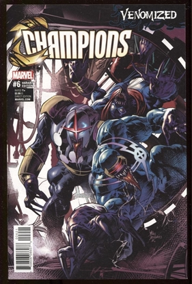Picture of CHAMPIONS #6 DEODATO VENOMIZED VAR