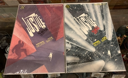 Picture of JUSTICE INC (1989) #1 2 BOOK ONE & TWO SET VF/NM