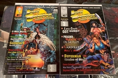 Picture of JUST COMICS AND MORE (2000) VOL.1 #1 & 2 1ST PRINT SET VF/NM