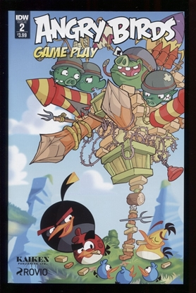 Picture of ANGRY BIRDS COMICS GAME PLAY (2017) #2