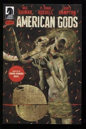 Picture of NEIL GAIMAN AMERICAN GODS SHADOWS (2017) #1 MCKEAN VAR CVR (MR)