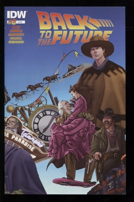 Picture of BACK TO THE FUTURE (2015) #3 (OF 4) NM