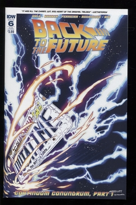 Picture of BACK TO THE FUTURE (2015) #6 SUBSCRIPTION VAR NM