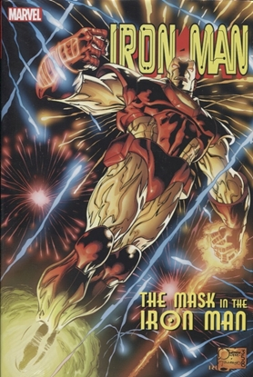 Picture of IRON MAN HC MASK IN IRON MAN OMNIBUS