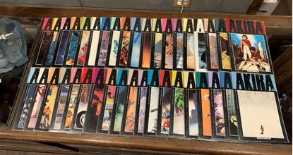 Picture of AKIRA (1988) #1-38 SET COMPLETE RUN VF