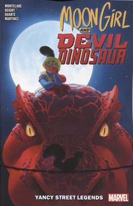Picture of MOON GIRL AND DEVIL DINOSAUR TP VOL 08 YANCY STREET LEGENDS