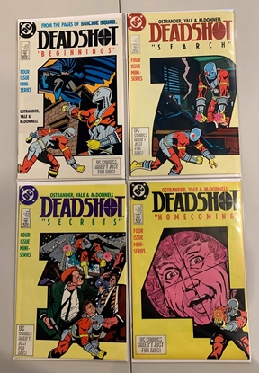 Picture of DEADSHOT BEGINNINGS  (1988) #1-4 SET VF/NM