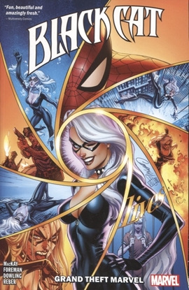 Picture of BLACK CAT TP VOL 01 GRAND THEFT MARVEL