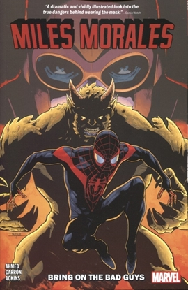 Picture of MILES MORALES TP VOL 02 BRING ON BAD GUYS