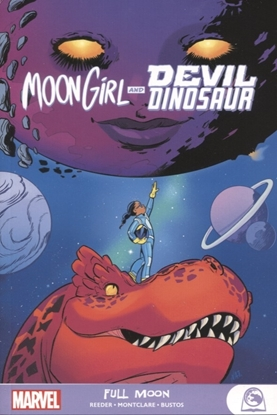 Picture of MOON GIRL AND DEVIL DINOSAUR GN TP FULL MOON