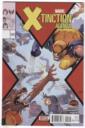 Picture of X-TINCTION AGENDA #2 SECRET WARS GUGGENHEIM DI GIANDOMENICO WOODARD