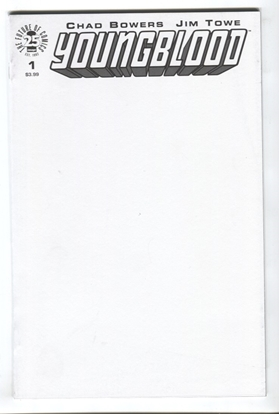 Picture of YOUNGBLOOD #1 CVR E BLANK SKETCH COVER