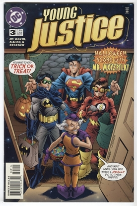 Picture of YOUNG JUSTICE (1998) #3 9.4 NM DAVID NAUCK STUCKER