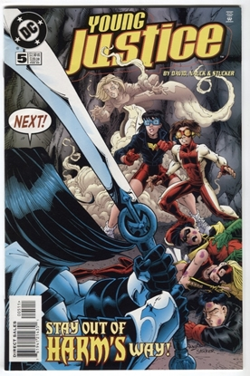 Picture of YOUNG JUSTICE (1998) #5 9.4 NM DAVID NAUCK STUCKER