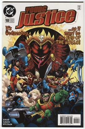 Picture of YOUNG JUSTICE (1998) #10 9.4 NM DAVID NAUCK STUCKER